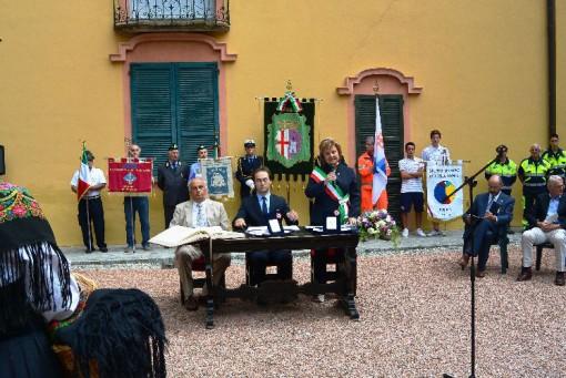 Eufemino, benemerenza civica, Erba, settembre 2013, Luigi Farina e Emilio Magni (1)