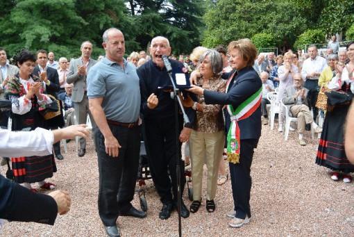 Eufemino, benemerenza civica, Erba, settembre 2013, Luigi Farina e Emilio Magni (10)