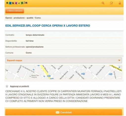 Azienda cerca personale ma a quell 39 indirizzo c 39 la cisl erbanotizie - Scuola per piastrellisti ...
