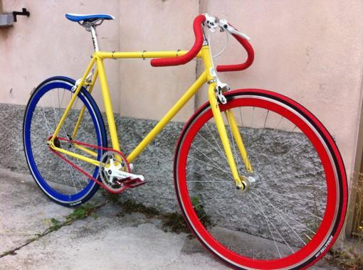 bicletta scatto fisso