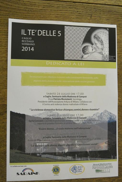 Programma il te delle 5 caglio rezzago sormano luglio agosto 2014 comunia pastorale madonna di campoe (6)
