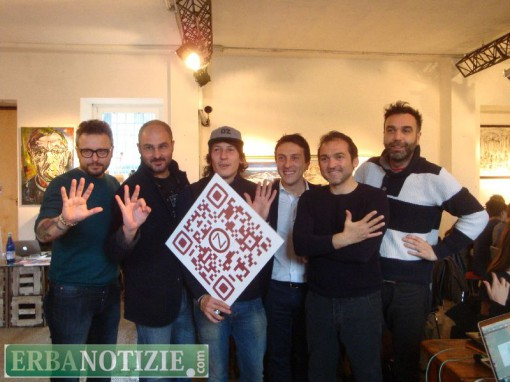 Da sinistra, Michele Bollini, Pierpaolo Perretta, Enrico Zappa, Giorgio Zappa, Salvatore Amura e Emanuele Scilleri