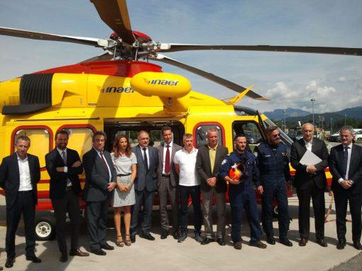 Elicottero Lecco : Elisoccorso volo notturno da lecco a roma per salvare