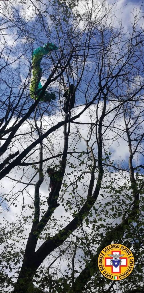 soccorso alpino parapendio